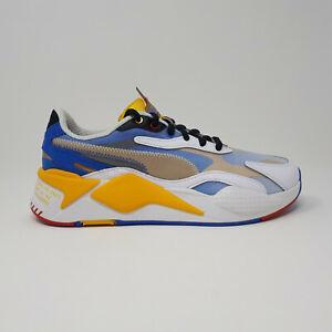 Puma Sonic the Hedgehog RS-X3 Golden Rod Sega 373427 01 Shoe Sneaker Mens Size