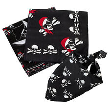 24 Assorted Pirate Theme Bandanas for Birthday Party Favors / COS - Item