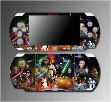 Star Wars Jedi Obi-Wan Kenobi Luke Skywalker Game Skin #2 for Sony PSP Slim 3000