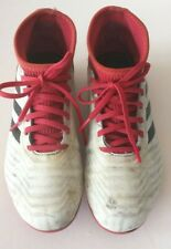 Boys Adidas Predator Football Boots Moulded Sole Size UK 2