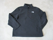 The North Face Fleece Jacket Adult Extra Large Black Gray Full Zip Outdoors *