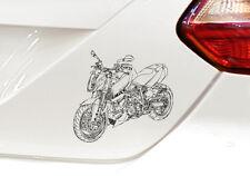 """SuperDuke 990, Grafik Auto-Motorrad-Aufkleber, Duke für den """"Motorrad-KTM-Fan"""""""
