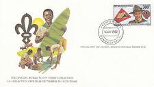 (14090) Mali FDC Card Scouts Bamako 1982