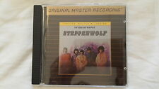 MFSL Ultradisc ll w/Gain2 Gold CD-Steppenwolf-Mint/Flawless/Pristine-Played once