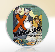 X Marks The Spot (1942) DVD Classic Crime Drama Film / Movie Damian O'Flynn