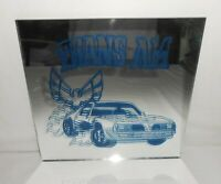 "Vintage Trans AM 12"" x 12"" Thick Carnival Mirror"