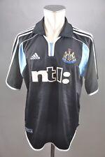 Newcastle United Trikot Gr. XL Jersey Adidas 2000-01 Away vintage NTL schwarz