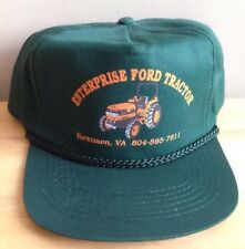 1980s - 1996 ENTERPRISE FORD TRACTOR TRUCKER BASEBALL CAP HAT, YORKTOWN, VA
