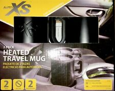 Auto XS Car Accesories 2 Pack Heated Travel Mug New 16 OZ