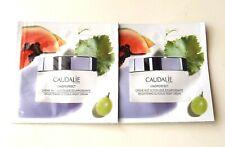 New LOT 2 Caudalie Vinoperfect Brightening Glycolic Night Cream Samples 2 ml ea