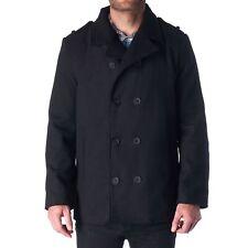 Hammer Anvil Bryce Para hombres Mezcla de lana chaqueta de doble botonadura chaquetón Vestido Pea Coat