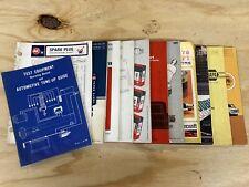 Vintage Automotive Parts & Tune Up Catalogs