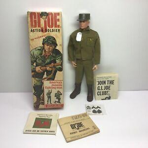 Vintage Hasbro 1964 G.I.JOE Action Soldier #7500 Near Mint In Box