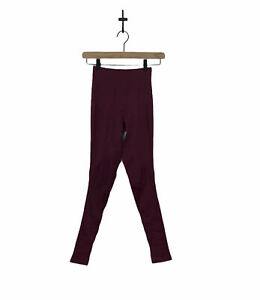 "Lululemon Zone in Tight Women's Seamless Leggings Size 2 27"" Inseam Wine Berry"