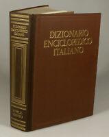 PRL) DIZIONARIO ENCICLOPEDICO ITALIANO 1974 SUPPLEMENTO ENCICLOPEDIA TRECCANI