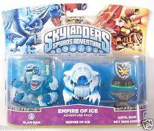 Skylanders Spyros Adventure Pack Empire of Ice Slam Bam All Platforms Anvil Rain