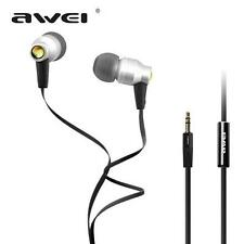 Awei ES800M Super Clear Bass Metal 3.5mm In-ear Earphones for MP3 MP4 Cellphone