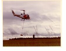 Bell Huey UH1 HT18 Navy Helicopter Photograph 8x10 Color