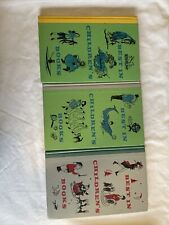 VINTAGE Best In Children's Books Nelson Doubleday,1960 Hardcover lot of 3