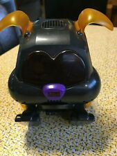 Tiger Electronics Poo-Chi Bulldog~Black Body, Yellow Ears, Purple Nose (Rare)