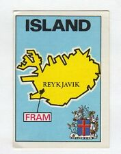 figurina PANINI FOOTBALL CLUBS NUMERO 142 ISLAND