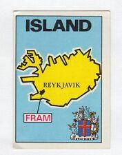 figurina PANINI FOOTBALL CLUBS NUMERO 142 ISLAND