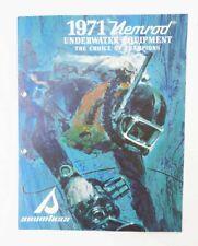 New listing ORIGINAL1971 NEMROD UNDERWATER SCUBA EQUIPMENT CATALOG - 15 COLOR PAGES