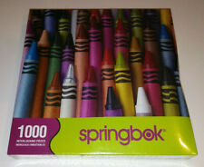 Springbok Puzzle STICKS OF COLOR Crayons 1000 Pieces 2013 NEW SEALED