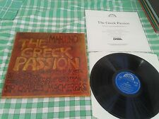 SUPRATHON 1116 3611/2 MARTINU: The Greek Passion ! Sir Charles Mackerras 2LP BOX