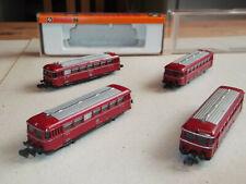 Arnold Schienenbus mit 3 Beiwagen