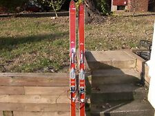 Vintage Northland Hickory snow skis made in the USA Dovre bindings 187cm