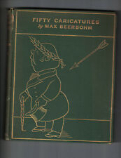 Fifty Caricatures by Max Beerbohm, 1913, London