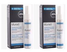 (2 Pack) Murad Transforming Powder Dual-Action 0.5 oz Cleanser & Exfoliator
