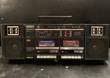 NATIONAL PANASONIC RX-CW26 Stereo Retro Boombox Vintage Radio Cassette Recorder