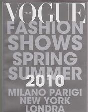 VOGUE ITALIA Numero No. 713 2010 SUPPL FASHION SHOWS COLLECTION