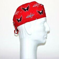 NHL Washington Capitals on Red Theme Scrub Hat