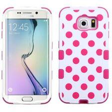 Étuis, housses et coques roses Samsung Galaxy S6 edge en silicone, caoutchouc, gel pour téléphone mobile et assistant personnel (PDA)