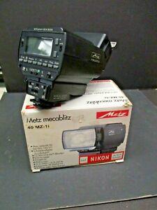 Metz 40MZ-1i electronic flash new old stock Tested metz 40mz-1i nikon af