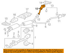 Acura HONDA OEM 2017 MDX 3.5L-V6-Exhaust System Tail Pipe 18330TZ5A01