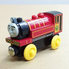 LOOSE LEARNING THOMAS WOODEN MAGNETIC TRAIN- VICTOR  HEAD COMBINE W/ CHUGGINGTON