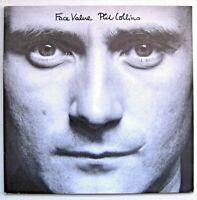 """Phil Collins - Face Value - Atlantic Records WEA 99 143 - 12"""" LP Album"""