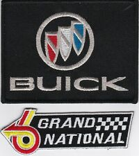 BUICK GRAND NATIONAL 6 SEW/IRON ON PATCH EMBLEM BADGE EMBROIDERED