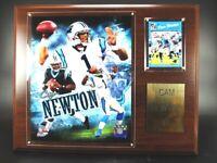 Cam Newton Carolina Panthers Holz Wandbild 38cm,Plaque Wall Picture NFL Football