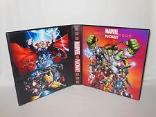 Custom Made Marvel Now Trading Card Binder Graphics Only