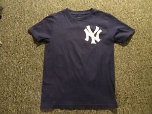 AARON JUDGE MAJESTIC JERSEY SHIRT NWOT SIZE YOUTH S
