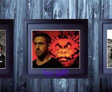 Ryan Gosling Only God Forgives SIGNED & FRAMED 10x8 REPRO PHOTO PRINT
