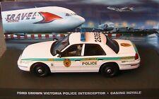 FORD CROWN VICTORIA POLICE INTERCEPTOR CASINO ROYALE JAMES BOND 007 1/43