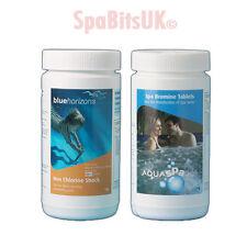 Bromo Tablets & non Cloro Shock paquete de tratamiento de aguas Spa químicos Hot Tub