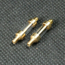 2x Glasöler M3 Echtglasöler für Dampfmaschine, Stirlingmotor, Flammenfresser