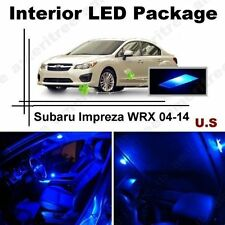 Blue LED Lights Interior Package Kit for Subaru Impreza WRX 2009-14 (6 Pieces )